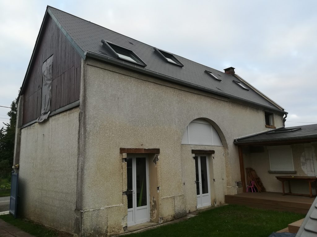 Ravalement façade traditionnel Avrechy