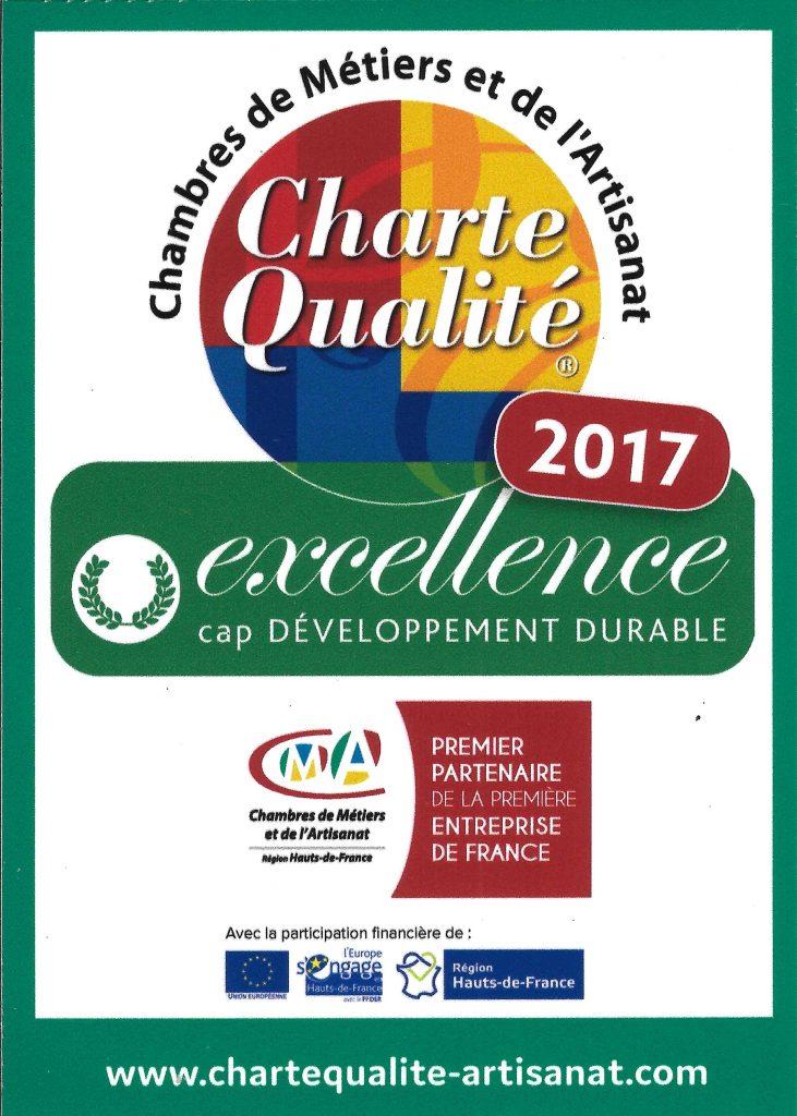 Logo charte Qualité Excellence